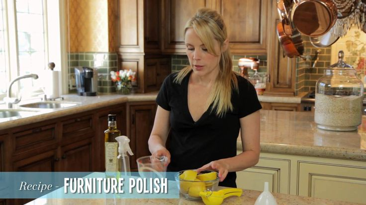 Video- Furniture Polish, All Purpose Cleaner and Laundry Powder - Homemade Cleaning Supplies - Go Green with ModernMom
