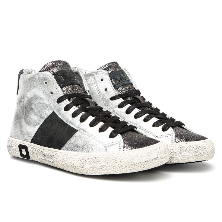 HILL HIGH STARDUST SILVER Autumn Winter 2014 Premium D.A.T.E. Sneakers Collection www.date-sneakers.com