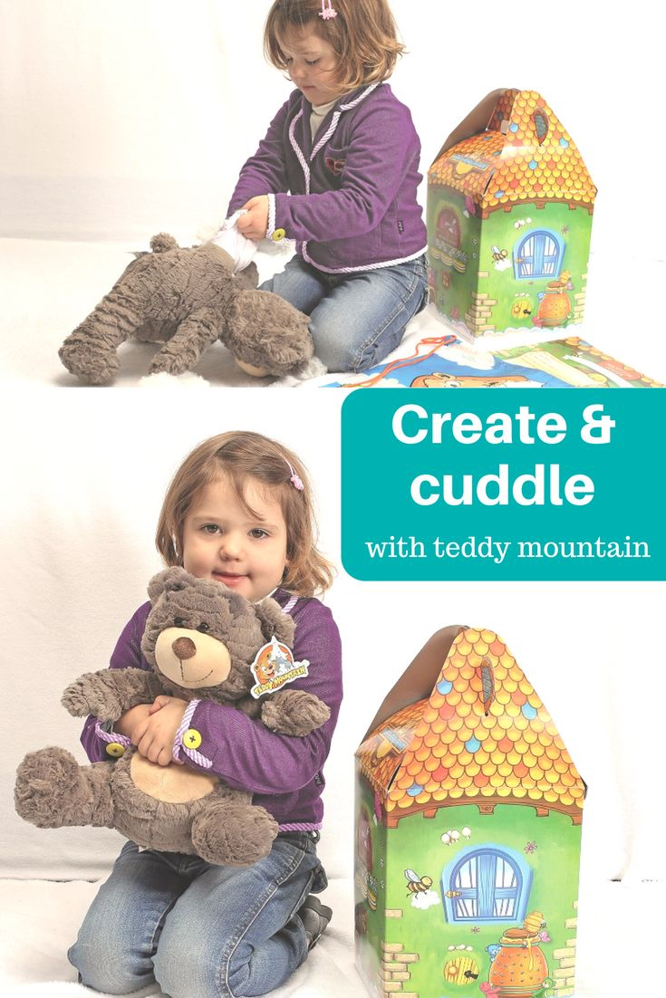 If you have a child who loves to build or create things and loves cuddles with their teddies then Teddy Mountain is the perfect gift for them. This easy to make little guy will quickly become a much loved friend for your toddler, preschooler or school age child. Also a great gift idea!! See for yourself just how wonderful this teddy really is....