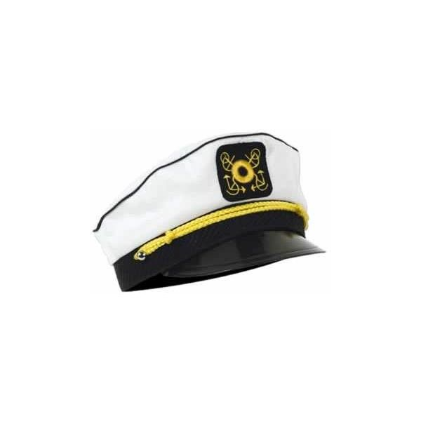 Party NAUTICAL Yacht Captain's Cap | Party Decorations 60757, found on #polyvore.