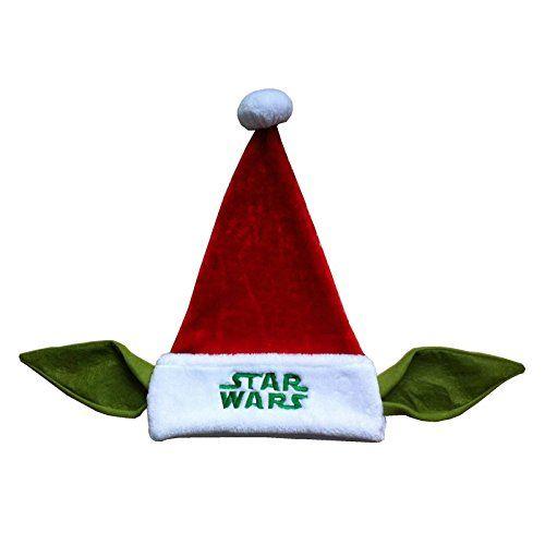 Star Wars Yoda Santa Hat 20in. @ niftywarehouse.com