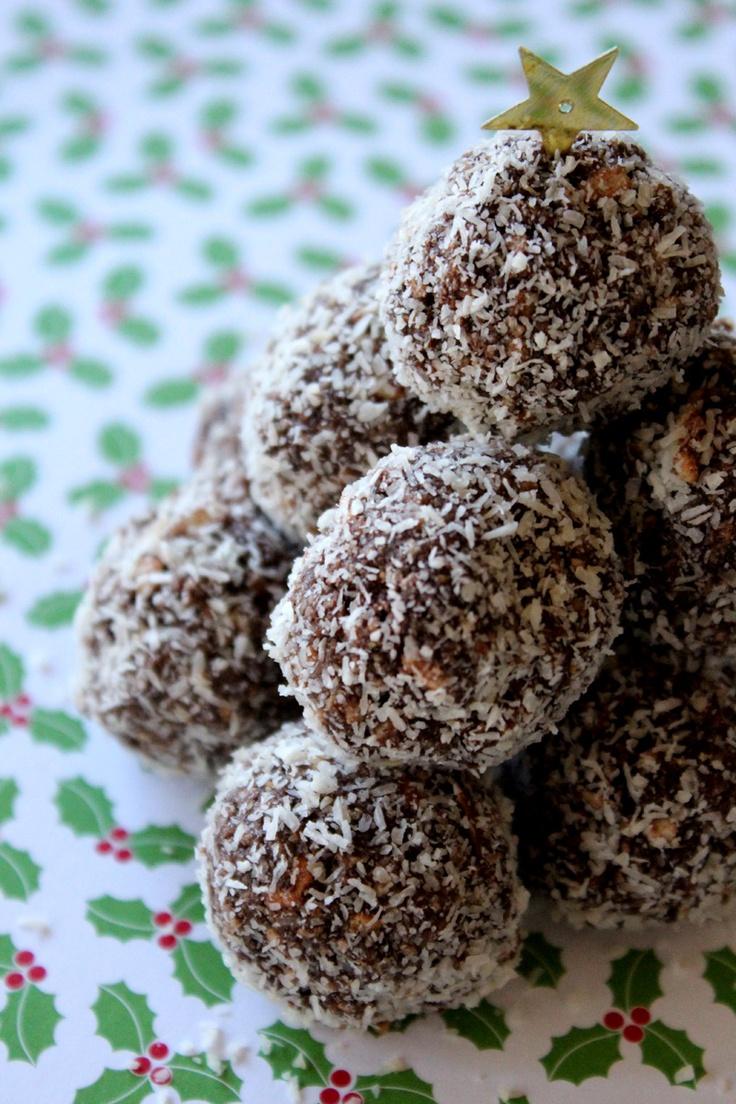 Chocolate Coconut Balls :)