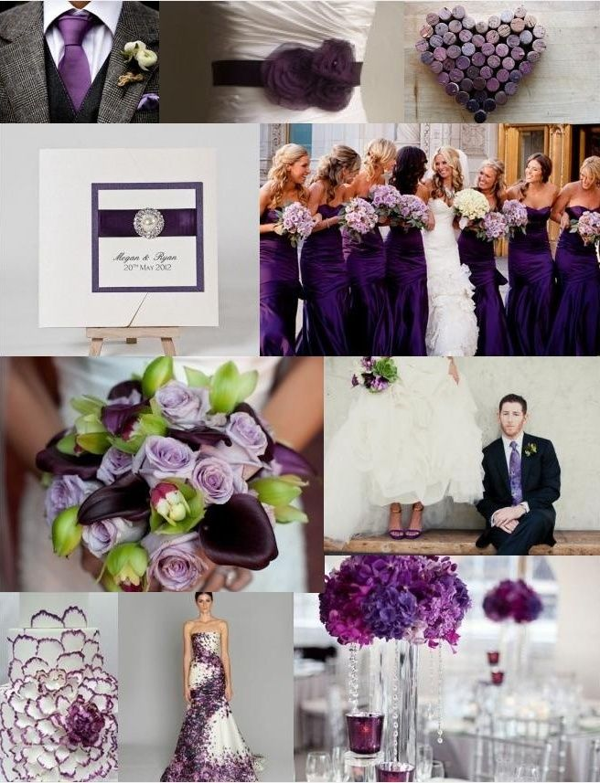 #Purple & Green Wedding ... Wedding ideas for brides & bridesmaids, grooms & groomsmen, parents & planners ... https://itunes.apple.com/us/app/the-gold-wedding-planner/id498112599?ls=1=8 … plus how to organise an entire wedding, without overspending ♥ The Gold Wedding Planner iPhone App ♥
