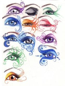 i love this... getting ready for my fantasy mkup 4 school