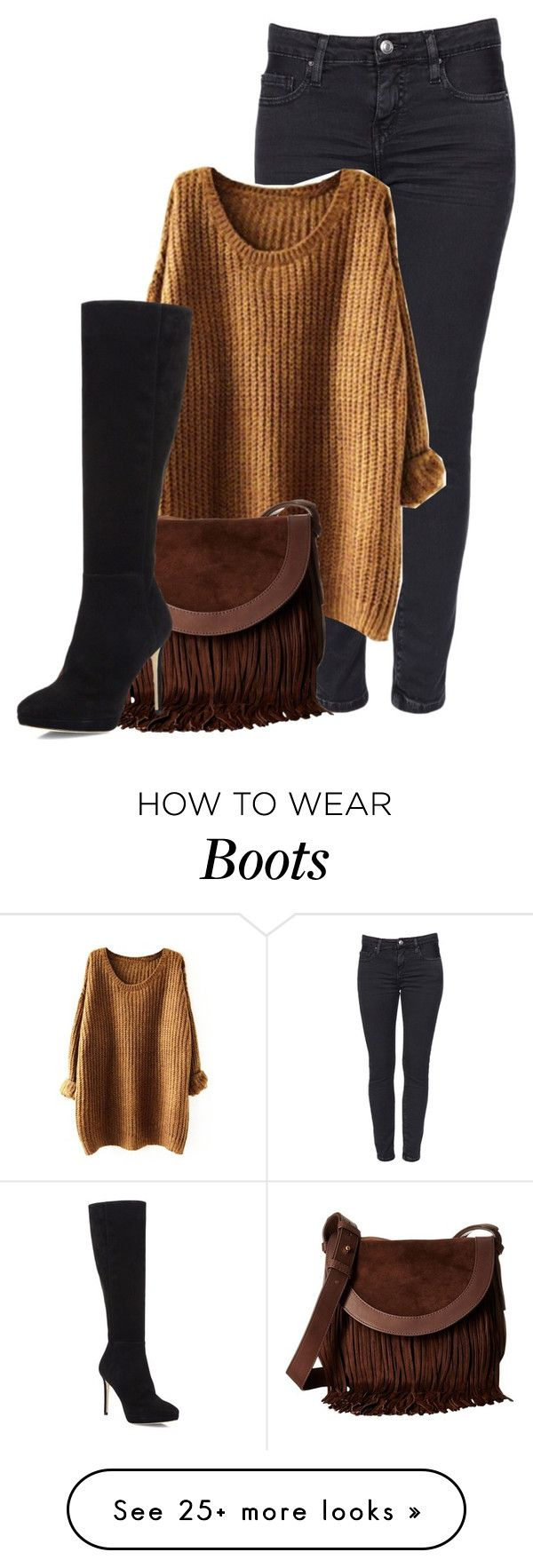 """""""Tall boots"""" by harrariz on Polyvore featuring Frye and Jimmy Choo"""