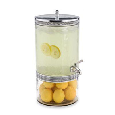 arthur court designs perla recycled glass beverage dispenser - Drink Dispensers