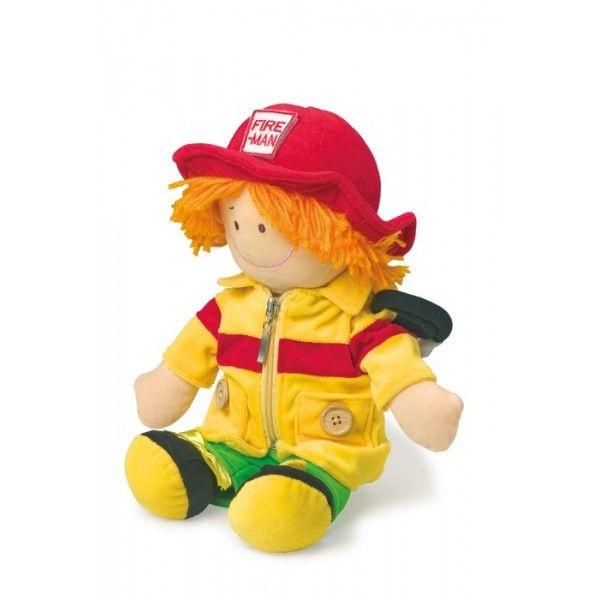 Bambola lavabile con cui si diverte e impara a maneggiare le diverse chiusure degli indumenti!