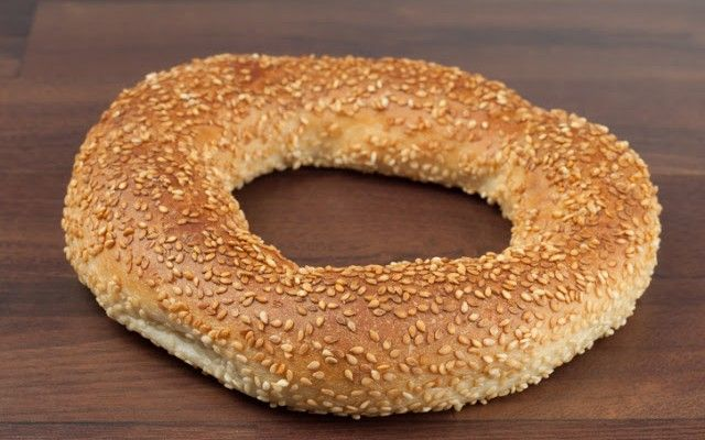 Turkish bagel.