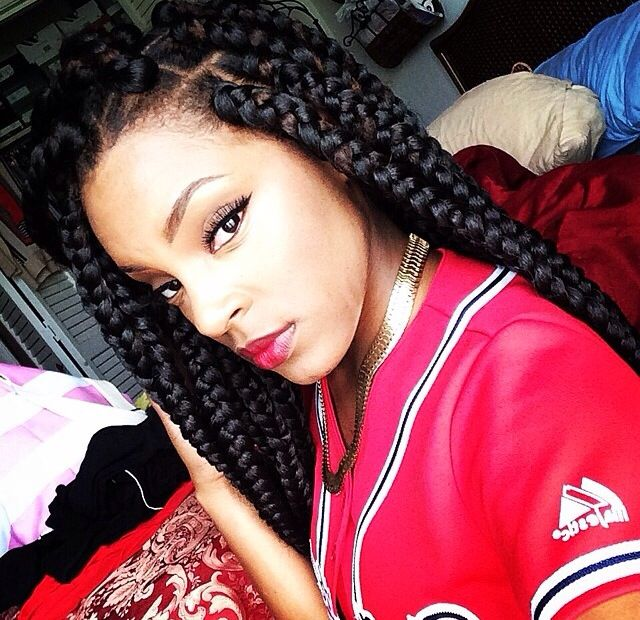 Poetic justice. Box braids. Big braids. Jumbo braids.: Big Box Braids ...
