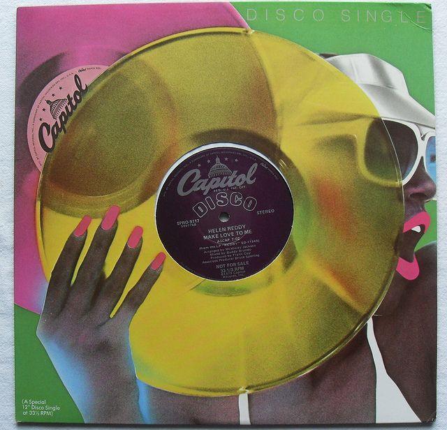 1970s DISCO 12 inch single HELEN REDDY Make Love To Me 1979 Album Record Cover Vinyl by Christian Montone, via Flickr