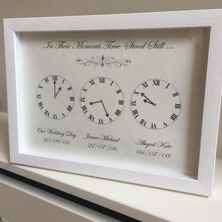 11 best Moments time stood still personalised clock frames images on ...