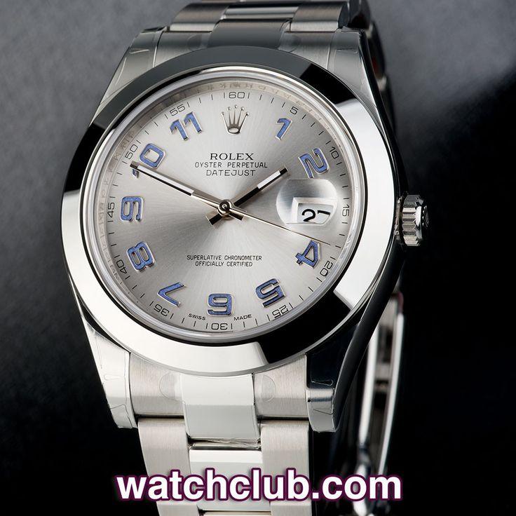 Rolex Datejust Ii Black Arabic
