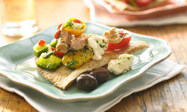 Healthy Recipes | Tuna and Cucumber Bruschetta Recipe | Made with canned tuna | Gold Seal