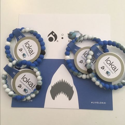 Shark Lokai Bracelet Discovery Channel Oceania sold by Cheeky Chick Boutique on Storenvy
