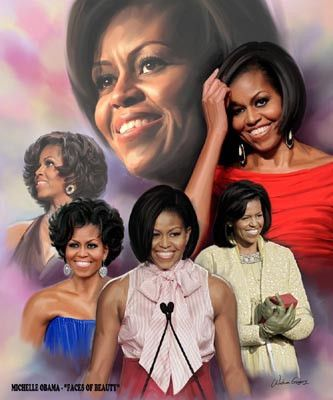 First Lady Wishum Gregory Fine Art Print Poster