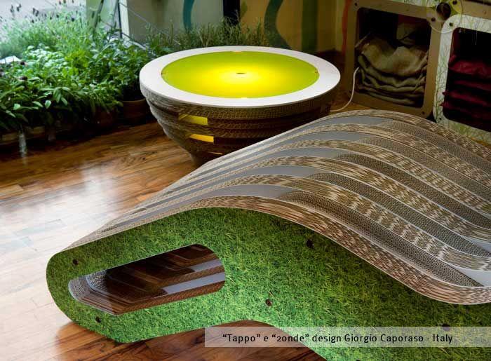 """Tappo & 2Onde Chaise Long"" by Giorgio Caporaso - LESSMORE® visit www.lessmore.it"