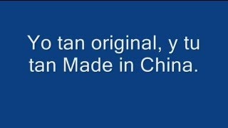 "Yo tan original, y tu tan ""Made in China"".... #jajaja #compartirvideos #videowatsapp"