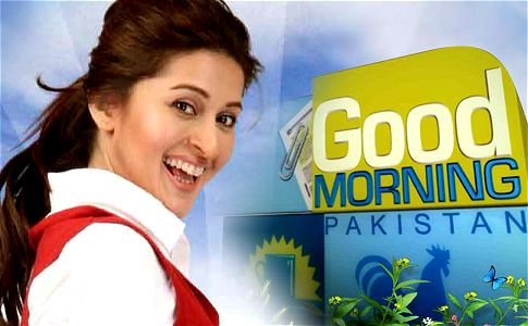 Good Morning Pakistan 9th June 2014 Good Morning Pakistan at 09:00 am from Mon-Fri with Host Nida Yasir..on ARY Digital Description.This show is the first show of ARY's Transmission, It is meant to Energize your day ,inform you about whats going on around the world, listen and discuss your problems and let you meet with famous celebrities from Pakistan.