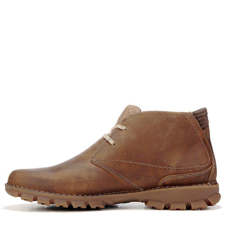 Caterpillar Men's Mitch Chukka Boots (Dark Beige Leather)