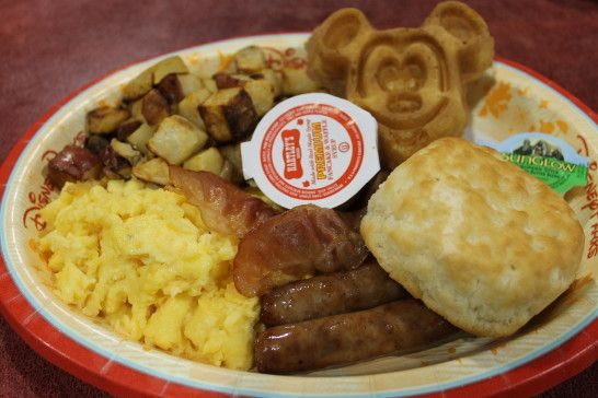 Stretch your food budget with this delicious breakfast available at most Walt Disney World resorts...