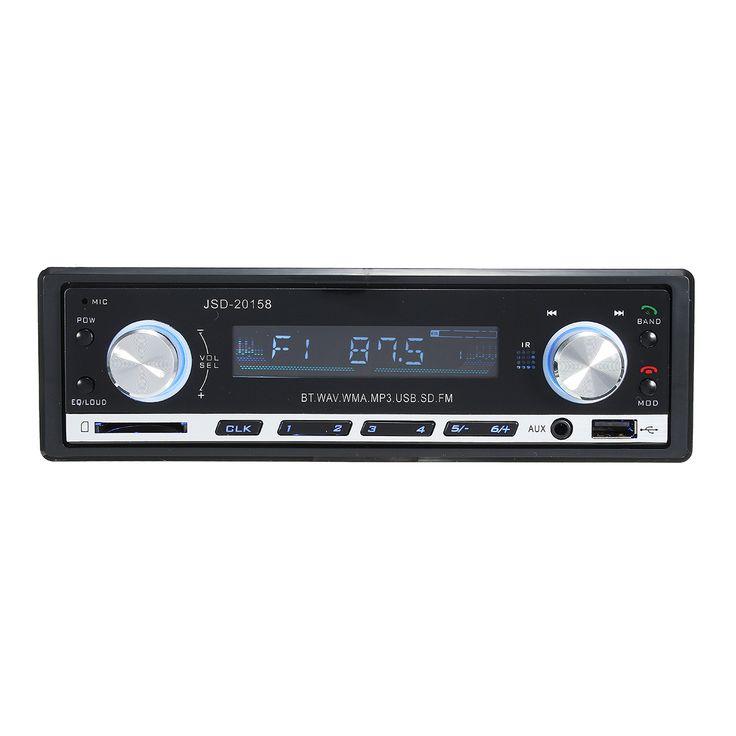 CocheBluetoothKitsSoporteparareproductor de MP3 Bluetooth Teléfono AM / FM Radio Aux Entrada Receptor