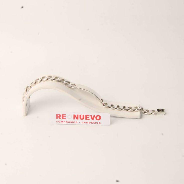 Esclava de hombre de plata de Ley de segunda mano E276386B | Tienda online de segunda mano en Barcelona Re-Nuevo