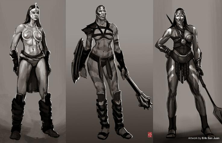 GOD OF WAR: ASCENSION  Concept Art by Erik San Juan  Copyright Sony Santa Monica Studio