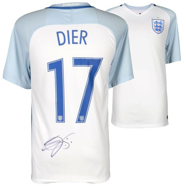 Eric Dier England National Team Autographed 2016-2017 Home Jersey - ICONS - $499.99