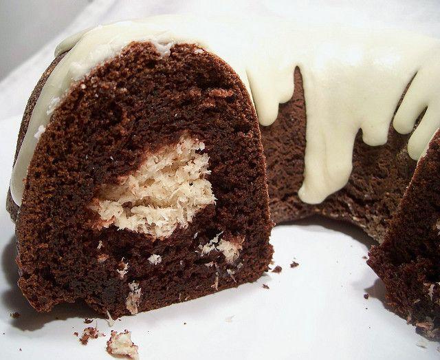 Chocolate Coconut Macaroon Bundt Cake Recipe