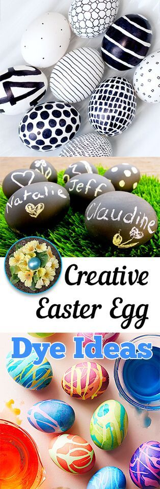 Some totally cute ways to decorate your eggs this Easter!