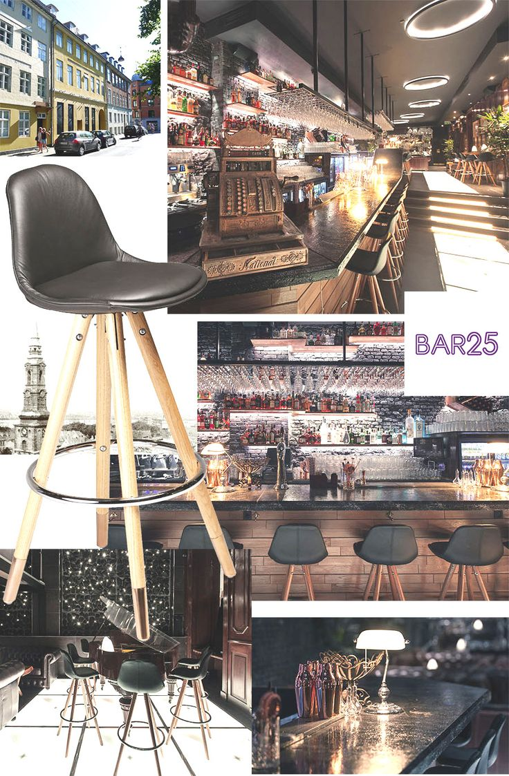 ORSO BARSTOOL & BAR 25 in Copenhagen #coctails #cooldecor #barlife #furniture  http://www.dan-form.com/#!products/c1qe2