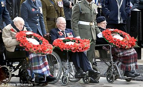 The last surviving WW1 veterans at Cenotaph
