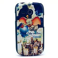 Κάλυμμα πίσω μέρους - Γραφικό/Κινούμενα σχέδια/Ειδικός Σχεδιασμός - Samsung Mobile Phone - για Samsung S3 Mini I8190N ( Πολύχρωμο , Πλαστικό )