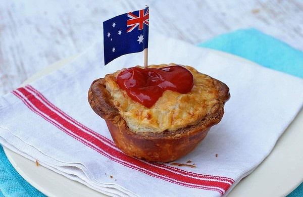 Dinky di delicious ... Aussie beef and Guinness pies.