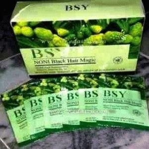 Nony BSY merupakan shampo pewarna/perawatan rambut yang berkhasiat untuk mencerahkan warna rambut, menutrisi, meregenerasi, menghaluskan, melembutkan, serta membantu meneatasi rambut rontok dan berketombe.