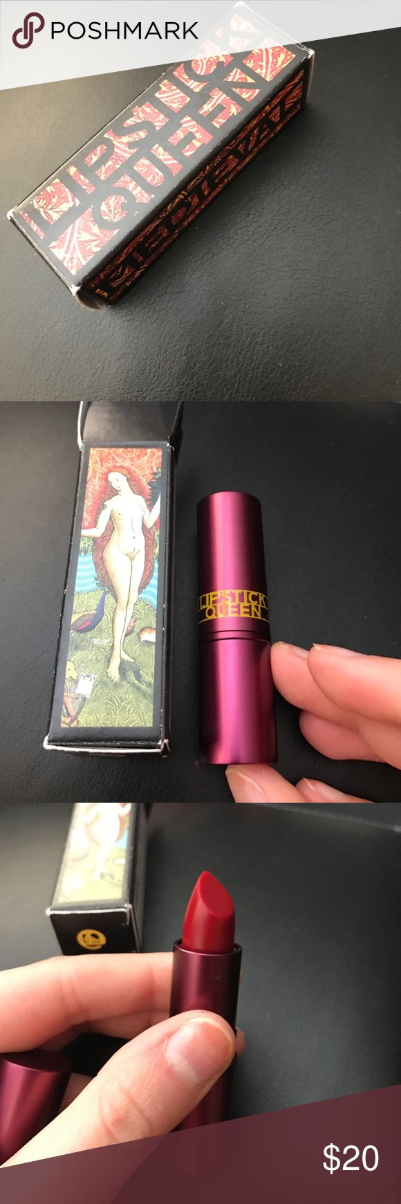 Lipstick queen medieval new in box Brand new never used! Clearing out my unused collection!  Send me your best offer! lipstick queen Makeup Lipstick