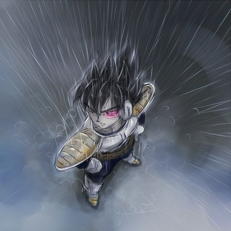 I always love finding fan art pictures of young Vegeta. I wish we could see his life.