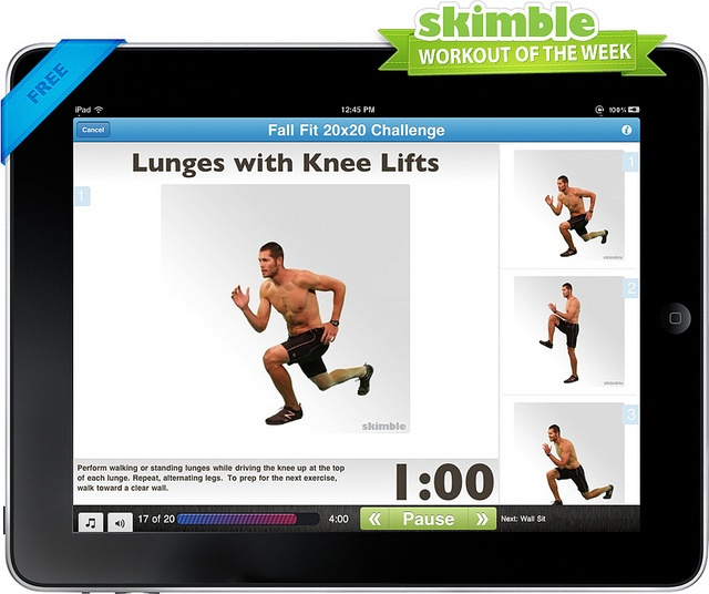Do This For Free In The Workout Trainer App! Skimble.com