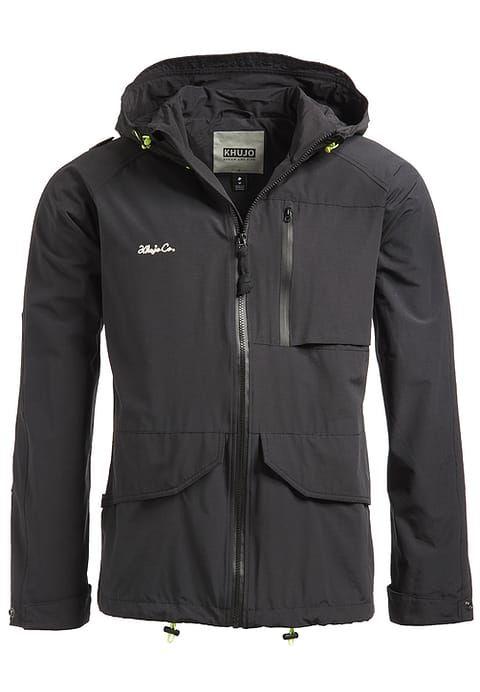khujo ANDUIN - Leichte Jacke - schwarz für 119,95 € (12.04.17) versandkostenfrei bei Zalando bestellen.