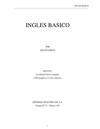 Curso de ingl s b sico by augusto ghio d