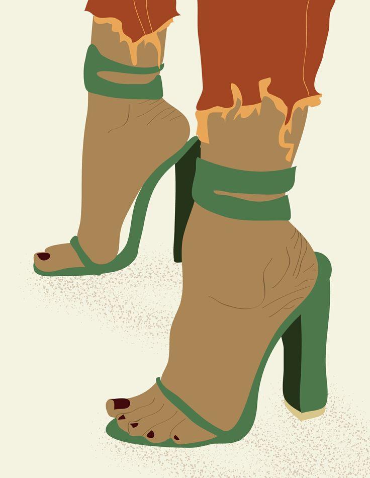 Shoes #art #design #digital #illustration #fashion