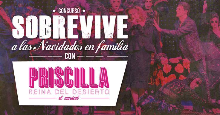 Sobrevive a las Navidades en Familia con Priscilla El Musical