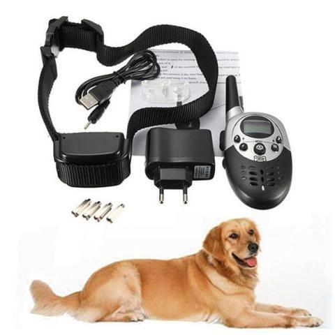 Bark Collar Anti Pet Dog Stop Shock Training Barking Control Electric No Trainer