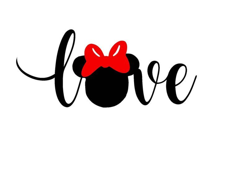 Disney SVG, Minnie SVG, Valentines Love, jpg, and …