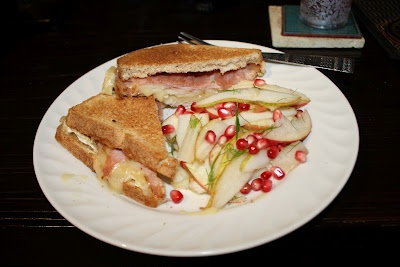 ... blog ham brie amp pear sandwich with pear apple amp pomegranate salad