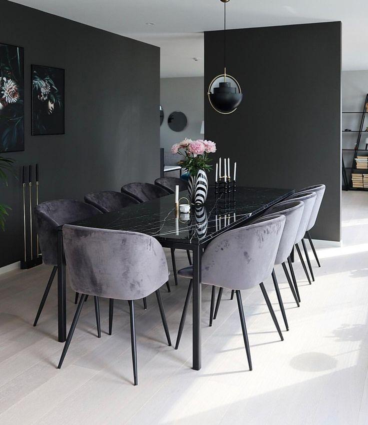 Schauen Sie sich einige inspirierende und luxuriöse Beleuchtungsideen für Esszimmer an. #moderndini