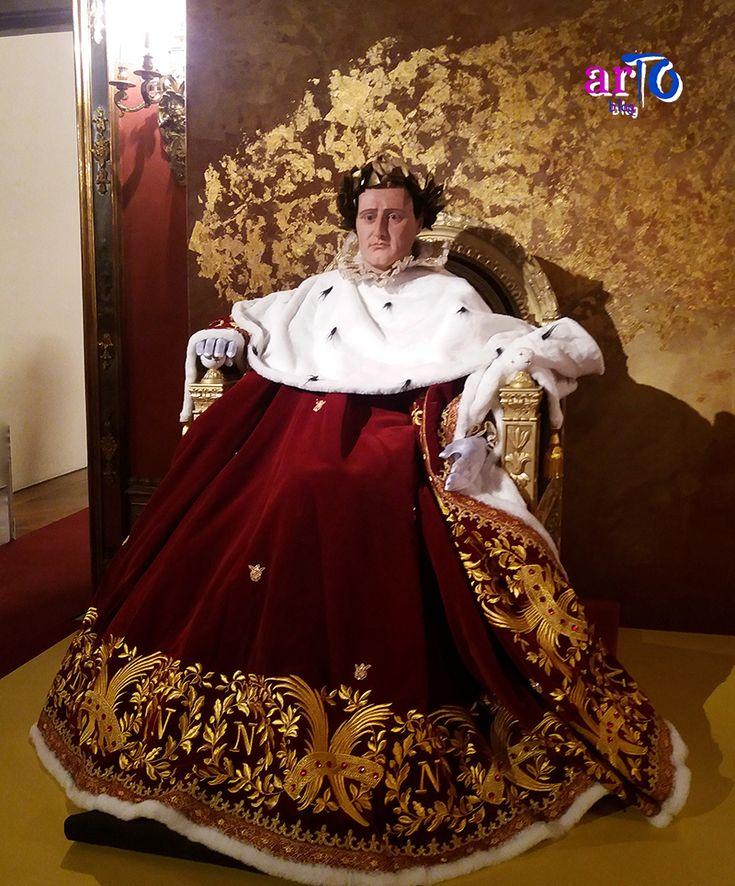 """Riproduzione di Napoleone imperatore (exhibition """"J'arrive. Napoleone Bonaparte"""" in Turin) #history #exhibition"""