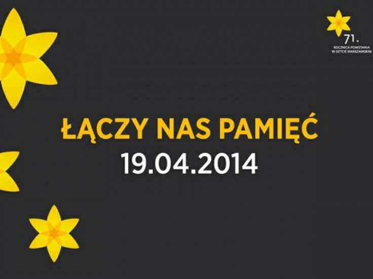 Pamiętaliście o 71. rocznicy powstania w getcie warszawskim? Z tej okazji nasza ambasadorka stworzyła wpis na blogu New Shadowlife! http://newshadowlife.wordpress.com/2014/04/19/to-juz-siedemdziesiata-pierwsza-rocznica/