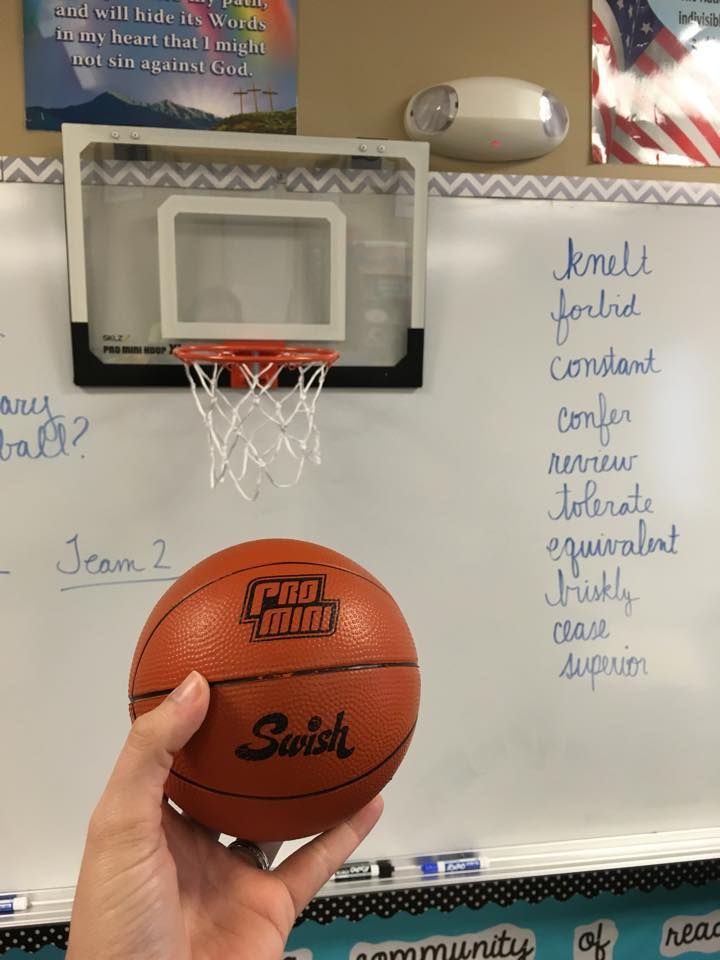 I have to do something like this with my students sometime - they love BB -For the Love of Teaching: Vocabulary Basketball