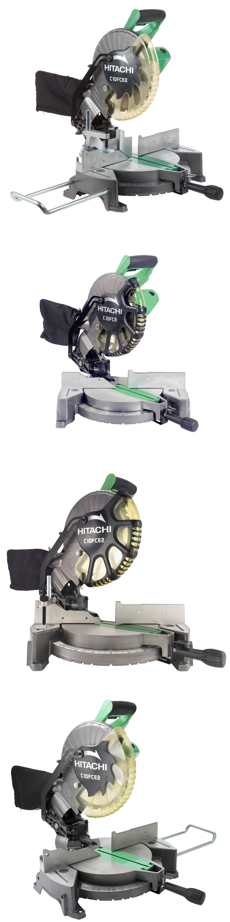 Miter and Chop Saws 20787: New Hitachi C10fce2 10-In 15-Amp Bevel Compound Miter Saw -> BUY IT NOW ONLY: $64.99 on eBay!